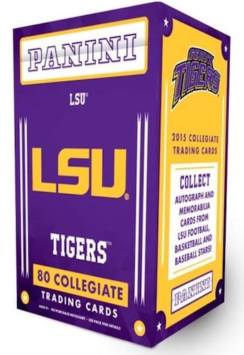 2015 Panini LSU Tigers Collegiate Trading Cards 3