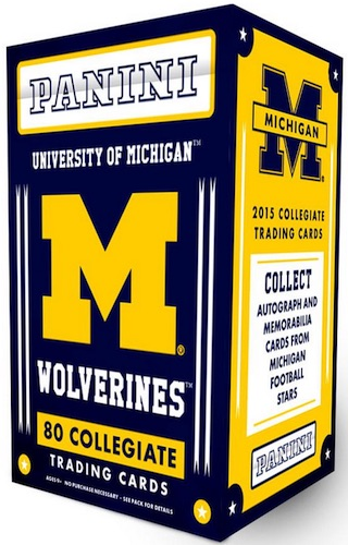 Michigan Ignored Conclusive Evidence Of >> 2015 Panini Michigan Collegiate Checklist Set Info Boxes More