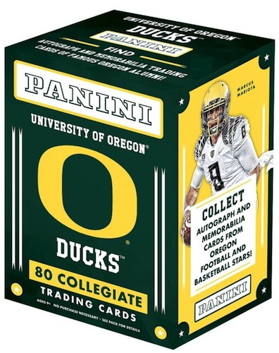 2015 Panini Oregon Ducks Collegiate Trading Cards 1