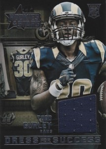 2015 Panini Rookies & Stars Football Dress for Success Gurley