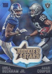 2015 Panini Rookies Stars Football Embroidered Patches
