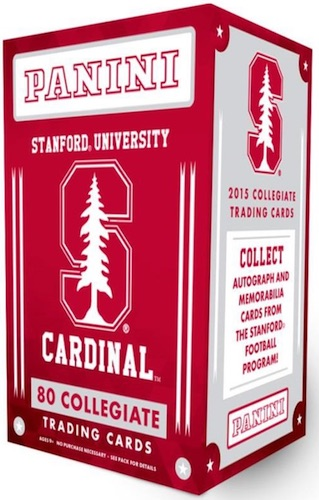 2015 Panini Stanford University Collegiate Trading Cards
