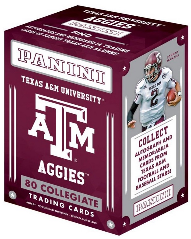 2015 Panini Texas A&M Aggies Collegiate Trading Cards