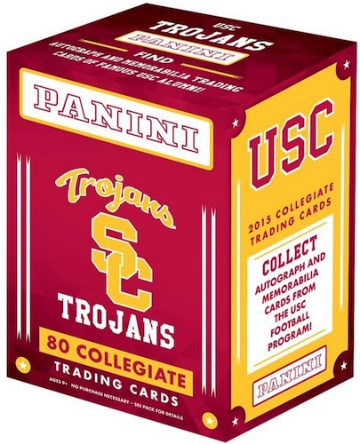 2015 Panini USC Trojans Collegiate Trading Cards 3