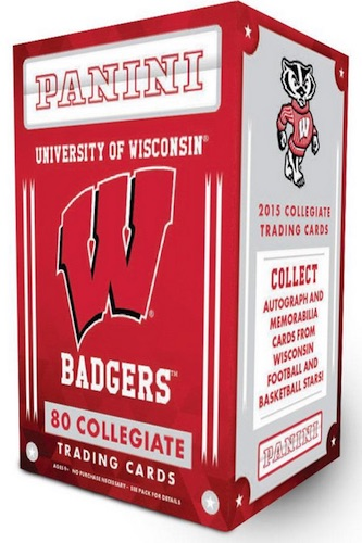 2015 Panini Wisconsin Badgers Collegiate Trading Cards 3