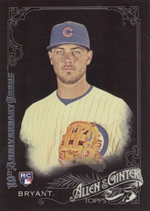 2015 Topps Allen & Ginter X Base Black Kris Bryant RC