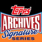 2015 Topps Archives Signature Series Baseball Cards