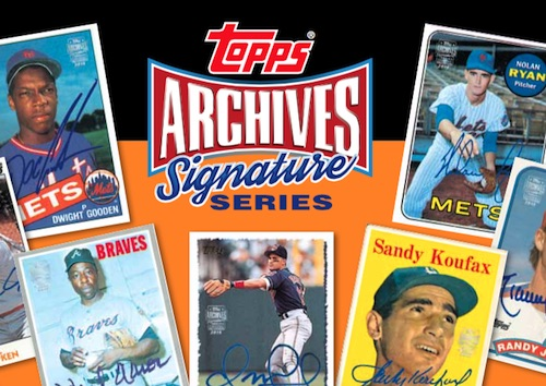 2015 Topps Archives Signature Series Baseball Cards 3