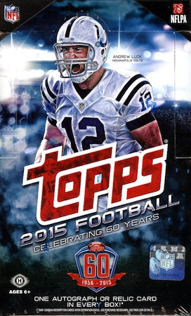 2015 Topps Football Cards 39