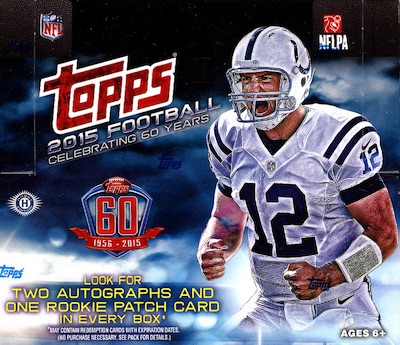 2015 Topps Football Cards 50