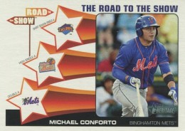 2015 Topps Heritage Minor League Baseball Road to the Show Conforto