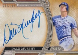 2015 Topps Tier One Dale Murphy Autograph