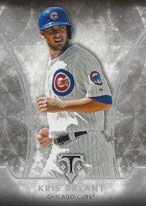 2015 Topps Triple Threads Baseball Base Kris Bryant RC