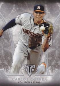 2015 Topps Triple Threads Carlos Correa RC #94