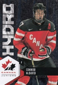 2015 Upper Deck Team Canada Juniors Hockey Hydro Connor McDavid