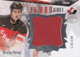 2015 Upper Deck Team Canada Juniors Hockey Jumbo Jersey