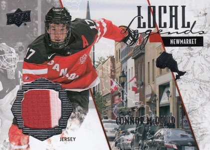 2015 Upper Deck Team Canada Juniors Hockey Local Legends Connor McDavid