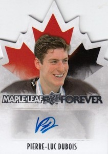 2015 Upper Deck Team Canada Juniors Hockey Maple Leaf Forever Autograph