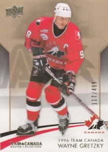 2015 Upper Deck Team Canada Master Collection Hockey Gretzky