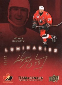 2015 Upper Deck Team Canada Master Collection Hockey Luminaries Gretzky