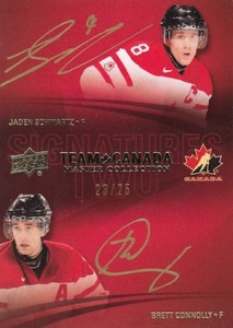 2015 Upper Deck Team Canada Master Collection Hockey Signatures 2