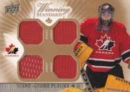 2015 Upper Deck Team Canada Master Collection Hockey Winning Standard Jersey