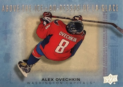 2015 Upper Deck Tim Hortons Collector's Series Hockey Above the Ice Ovechkin