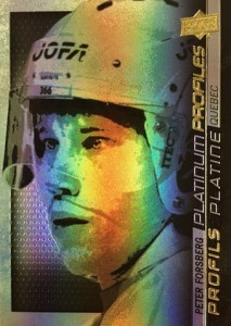2015 Upper Deck Tim Hortons Collector's Series Hockey Platinum Profiles