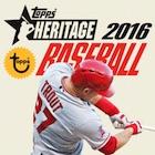2016 Topps Heritage Baseball Cards