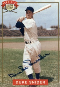 Top 10 Duke Snider Baseball Cards 5