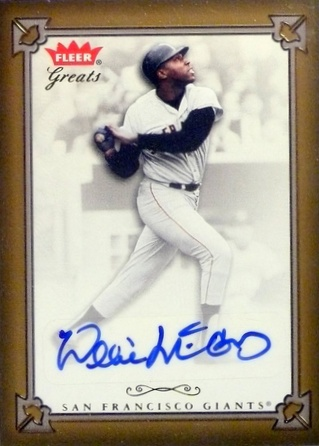 Top 10 Willie McCovey Cards 2