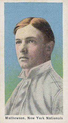 Top 10 Christy Mathewson Baseball Cards 4