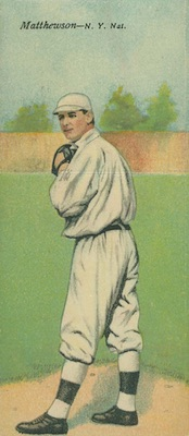 Top 10 Christy Mathewson Baseball Cards 7