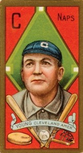 1911 T205 Gold Border Baseball Cy Young