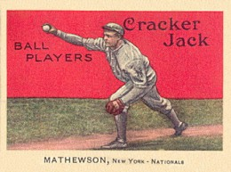 1914 Cracker Jack Christy Mathewson #88