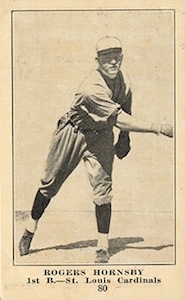 Top 10 Rogers Hornsby Baseball Cards 10