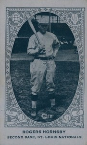 1922 E120 American Caramel Rogers Hornsby
