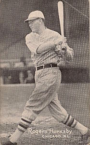 Top 10 Rogers Hornsby Baseball Cards 6