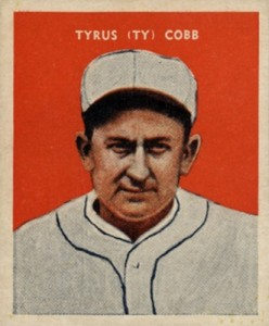 Top 10 Ty Cobb Baseball Cards of All-Time 1