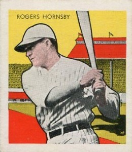 Top 10 Rogers Hornsby Baseball Cards 9