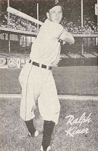 Top 10 Ralph Kiner Baseball Cards 7