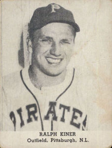 1947 D232 Tip Top Bread Ralph Kiner