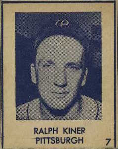 Top 10 Ralph Kiner Baseball Cards 1