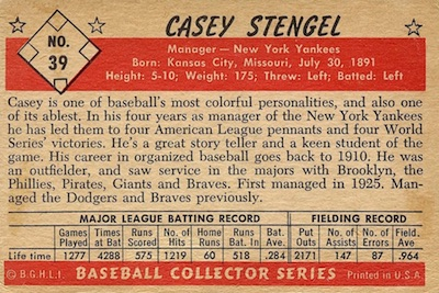 1953 Bowman Baseball Cards - Color and Black & White Series 6