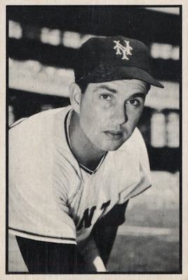 1953 Bowman Baseball Cards - Color and Black & White Series 17