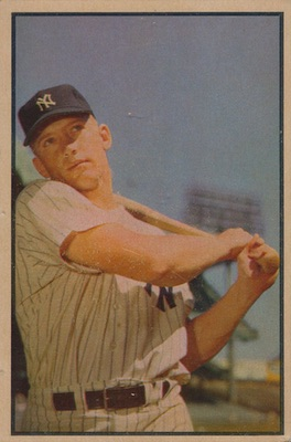 1953 Bowman Baseball Cards - Color and Black & White Series 1
