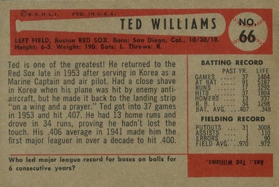 1954 Bowman Baseball Cards 2