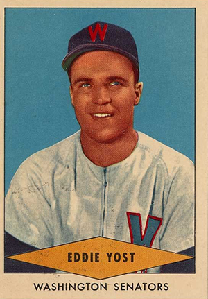 1954 Red Heart Baseball Cards 36