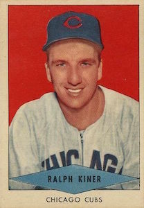 Top 10 Ralph Kiner Baseball Cards 5