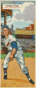 Top 10 Warren Spahn Baseball Cards 2